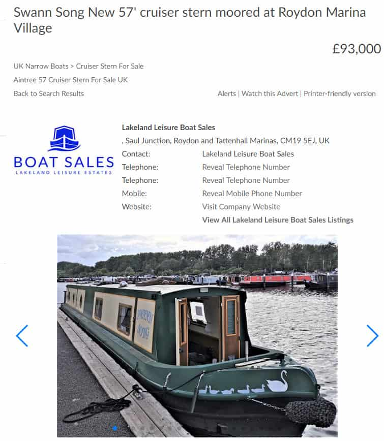 do canal boats hold there value?