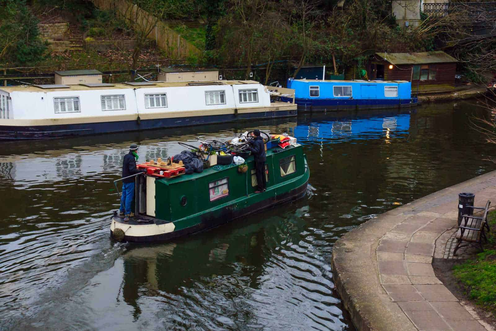 All about narrow boat water tanks!